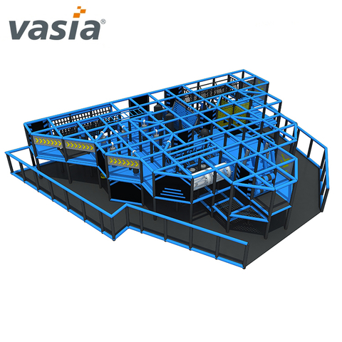 Ninja Course Soft Indoor Playground Shopping Mall para la escuela Ninja