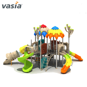 Nuevo Jungle Kids Outdoor Slide Playset