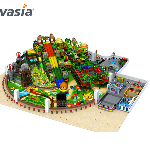 Fiesta de cumpleaños de Big Amusement Kids Play Area para Indoor Play Center